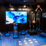 Nike shop design in Foot Locker Oxford street London