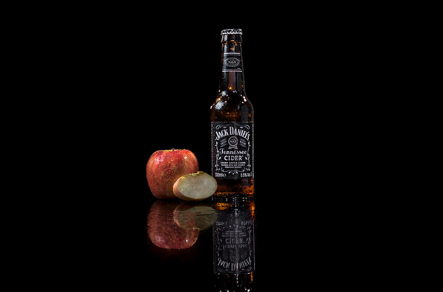 product photography bottle Jack Daniels