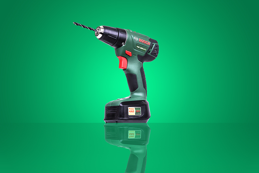 Bosch Electric Drill product photography services